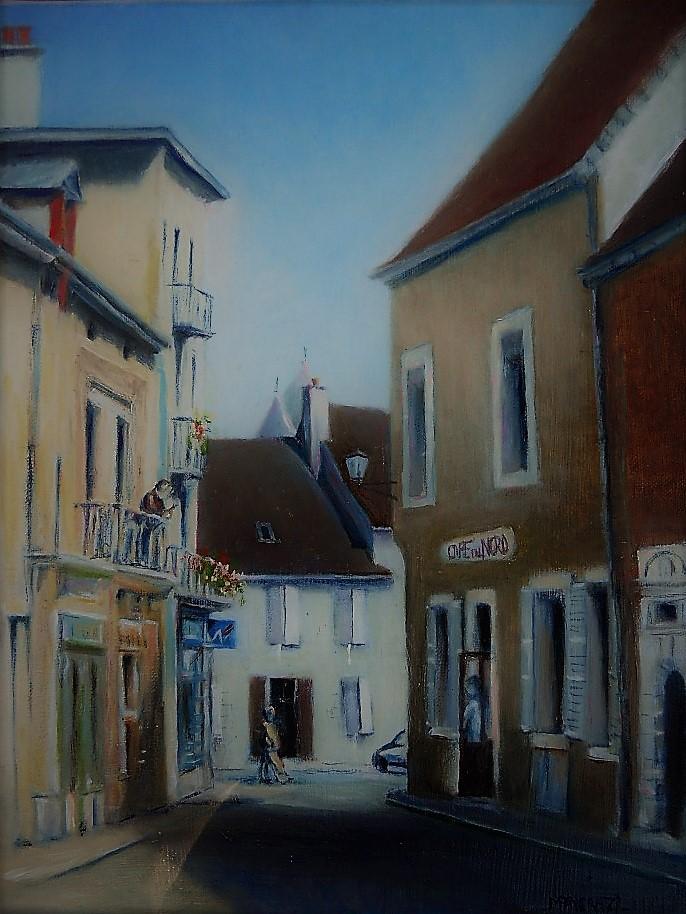 Rue St Honoré, Arnay le Duc (27x35)