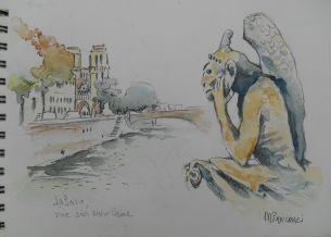 La Seine vue sur Notre Dame