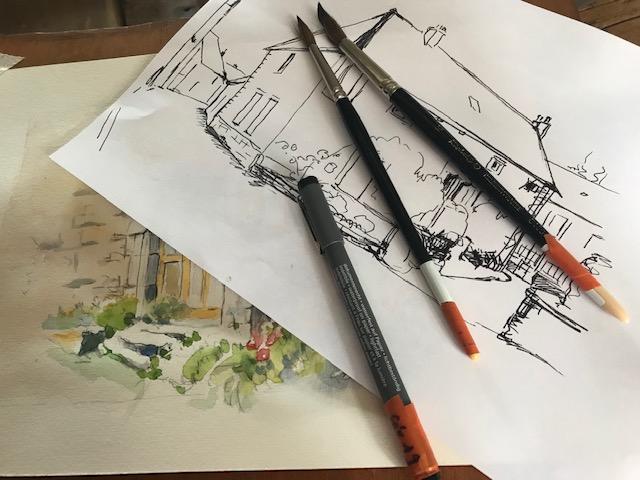 Samedi 29 juin : Journée Peindre dans les rues D'Arnay leDuc