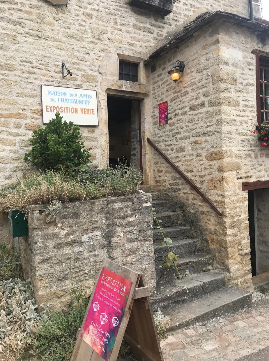 Exposition Marie-Paule Pancrazi à Châteauneuf-en Auxois du 8 au 21 juillet à la Maison des Amis deChateauneuf