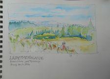 La Petite finlande, Esmoulières, Le pré Temeloup, étang de la Fête