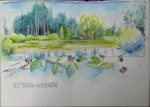 L'étang du Moulin